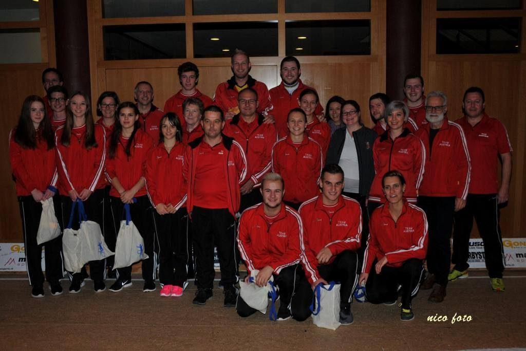 Team Austria beim Nationencup AUT-SUI-GER (Foto von Günter Nicolussi/facebook)